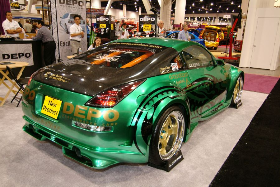 SEMA Show Back To Old School Car Show - Fast and furious car show